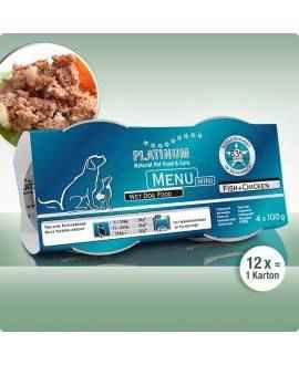 Platinum Menu Fisk og Kylling - Platinum hundefoder - Online salg af hundefoder fra Platinum - 83% kød