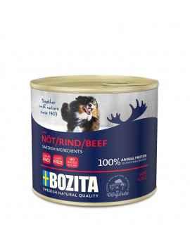 Oksekød - Bozita Hundemad - Pate - 625 gram  - 1