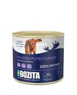 Kalkun - Bozita Hundemad - Pate - 625 gram  - 1