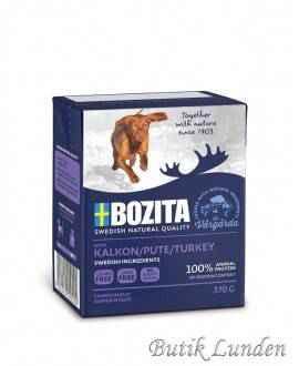 16 x KALKUN - Bozita Bidder i Gele Kornfri vådfoder - 370 gram  - 1