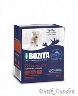 16 x KYLLING - Bozita Bidder i Gele hundefoder - 370 gram  - 1